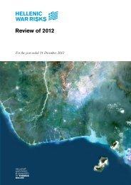 Review of 2012 - Hellenic War Risks