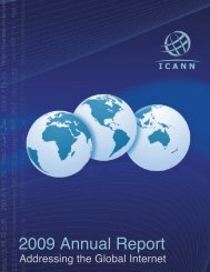 annual-report-2009-en - icann