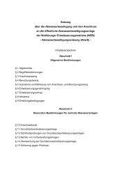 Satzung über die Abwasserbeseitigung und den ... - Wolfsburg