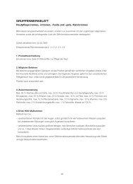 Gruppenmerkblatt Pflegelotionen - Maha Cosmetics GmbH