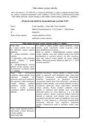 116_2013_odůvodnění VZ_sluzby_SAP - Úřad vlády České republiky