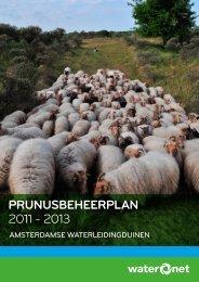 Prunusbeheerplan 2011-2013 - Waternet