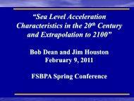 Sea Level Acceleration - fsbpa