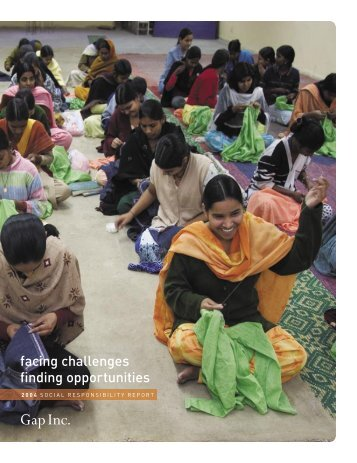 2004 Social Responsibility Report - Gap Inc.
