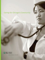 2009 Annual Report, Caring for Chicago's Community