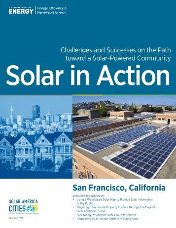 San Francisco, California: Solar in Action (Brochure), Solar ... - NREL