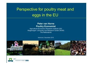 Perspective for poultry meat and eggs in the EU - European Poultry ...