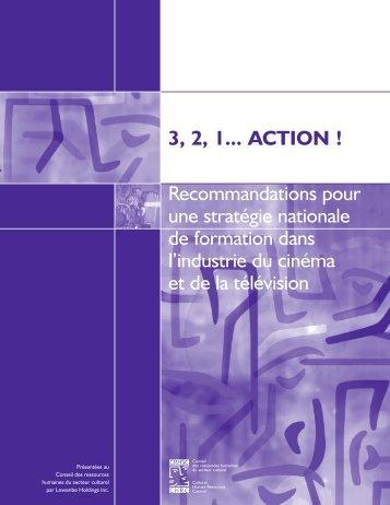 3, 2, 1...Action - Conseil des ressources humaines du secteur culturel