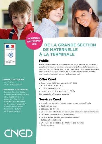 formule - Institut Francais