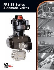 FPS 88 Series Automatic Valves