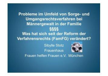 Vortrag Sibylle Stotz
