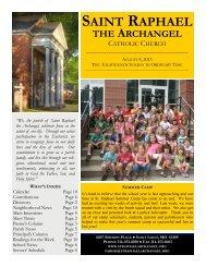 August 4, 2013 - St. Raphael
