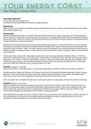 KS3 Lesson Plan - Sustainability
