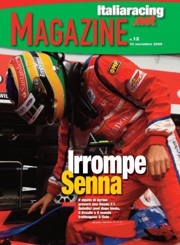 Il nipote di Ayrton proverà una Honda F.1. Quindici anni ... - Italiaracing