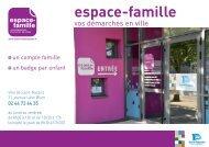 Téléchargez le dépliant simplifié de l'espace-famille - Saint-Nazaire