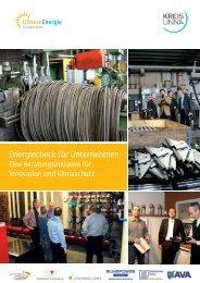 Energiecheck für Unternehmen - eine ... - Kreis Unna