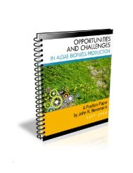 Opportunities and Challenges in Algae Biofuels Production | - FAO
