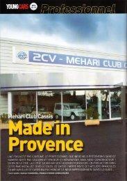 5 - 2CV MEHARI CLUB CASSIS