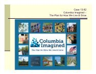 The Plan for How We Live & Grow - City of Columbia, Missouri