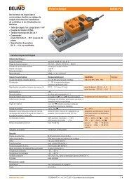 Fiche technique SM24A-PC - Belimo