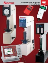 Gage Amplifiers, Hardness & Surface Testers - JW Donchin CO.