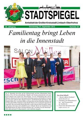 Stadtspiegel 20-12.pdf - WWW Limbach-Oberfrohna