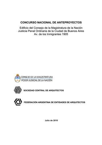 bases-concurso-cmn - Sociedad Central de Arquitectos