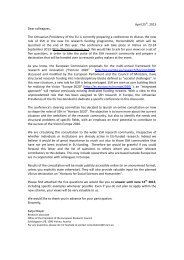 April 25th, 2013 Dear colleagues, The Lithuanian Presidency of the ...