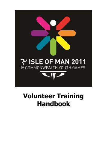 Volunteer Training Handbook - Isle of Man Commonwealth Youth ...