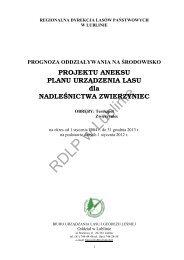 RDLP w Lublinie - Państwowe Gospodarstwo Leśne LASY ...