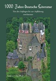 1000 Jahre deutsche Literatur Von den ... - Focus Publishing
