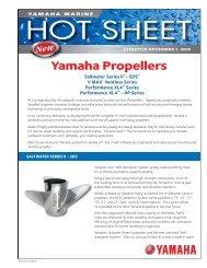 Propeller Hot Sheet.indd - Yamaha