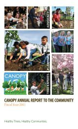 Annual Report 2011 - Canopy