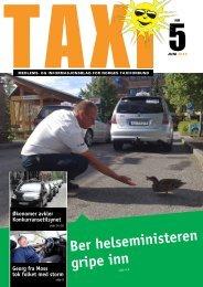 TAXI nr. 5/12 - Norges Taxiforbund