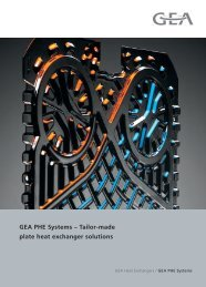 Product Image Brochure - GEA PHE Systems