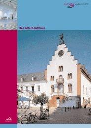 Das Alte Kaufhaus - Stadtholding Landau