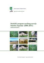 Strateški program ruralnog razvoja Istarske ... - Istarska županija