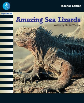 Amazing Sea Lizards