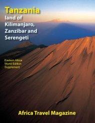 Tanzania - air highways - magazine of open skies, world airlines ...