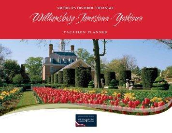 Vacation Planner 2013 - Williamsburg