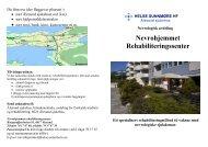 TILBUD TIL POLIKLINISKE PASIENTER - Helse Midt-Norge