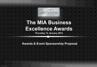 The MIA Business Excellence Awards - Motorsport Industry ...