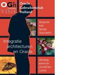 OGh Visie 2006 Voorjaar - Oracle Gebruikersclub Holland