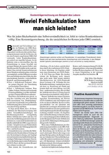 MVZ und Labor - Trillium GmbH