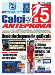 calcio a 5 anteprima 37/09 CN