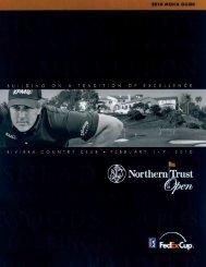 Championship Summaries (cont.) - PGA TOUR Media