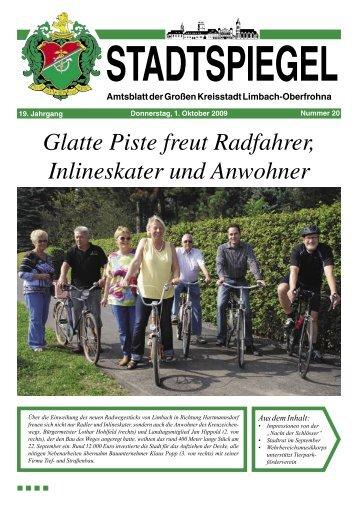 Stadtspiegel 20-09VRH.pdf - Stadt Limbach-Oberfrohna