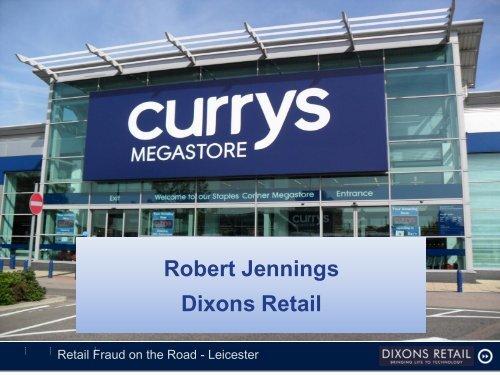 Robert Jennings Dixons Retail - Retail Knowledge
