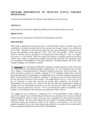 Orchard Performance of Selected Rootstocks - Walnut Research ...