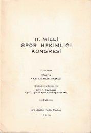 Bildiriler - Spor Bilim
